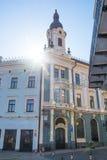 Architektura miasto Chernivtsi początek Kobylianskaya ulica, Chernivtsi, Ukraina Chernivtsi, Ukraina 06 16 Zdjęcia Royalty Free