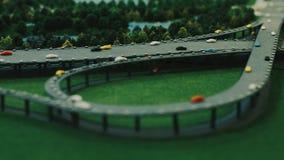 Architektura model nowożytny miasta drogowy złącze Autostrady budowy plan zbiory wideo