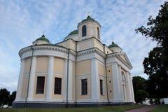 Architektura monaster w Novhorod-Severskyi zdjęcia royalty free