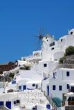 Architektura na Santorini wyspie, Grecja Obraz Royalty Free