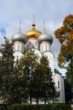 Architektura Novodevichy klasztor w Moskwa Smolensk ikony katedra Obrazy Stock