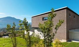 Architektura nowożytny projekt, dom Zdjęcie Stock