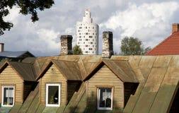 architektura nowożytna Zdjęcia Royalty Free