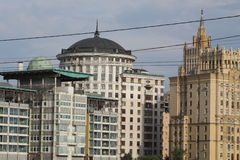 Architektura nowożytny miasto Obrazy Royalty Free