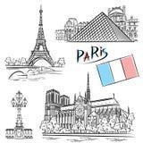Architektura Paryż Zdjęcia Royalty Free