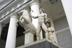 Architektura Petersburg, Rosja Manege powystawowa sala Fotografia Royalty Free