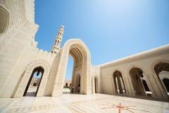architektura piękny uroczysty meczetowy Oman Fotografia Stock