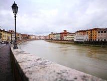 architektura Pisa Artystyczny widok w roczników żywych colours Fotografia Royalty Free
