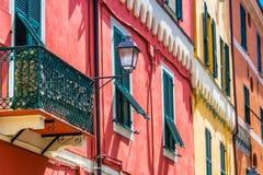 Architektura Porto Maurizio, Liguria, Włochy fotografia stock