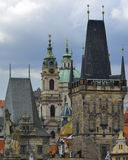 Architektura Prague Obraz Royalty Free