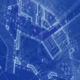 architektura projekt Obraz Stock