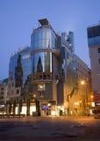 architektura ranek centrum nowożytny Vienna zdjęcia royalty free