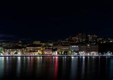 Architektura Sodermalm w Sztokholm zdjęcia royalty free