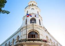 Architektura stary miasteczko w Santo Domingo zdjęcie royalty free