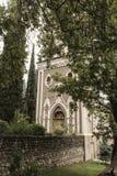 Architektura stary miasto, piękny widok wierza, kaplica w świątyni, widoki Gruzja Obraz Royalty Free