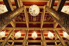 Architektura starym tajlandzkim kultura stylem Fotografia Royalty Free