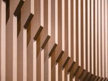 Architektura szczegółów ściany wzoru Drewniany projekt Obrazy Royalty Free