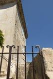 Architektura szczegół w Èze wiosce, Francja Obraz Stock