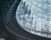 Architektura szczegółu Nowożytna Buduje Szklana fasadowa powierzchowność Zdjęcie Royalty Free