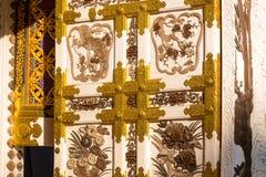 Architektura szczegóły buddyjska świątynia zdjęcie stock