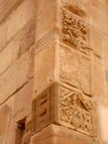 Architektura szczegóły w Petra zdjęcie stock