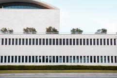 Architektura szczegół Palazzo dei Congressi Roma Eur Zdjęcie Royalty Free
