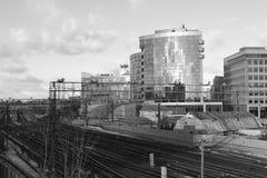 Architektura szczegóły budynki Moskwa Fotografia Royalty Free