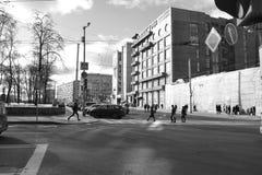 Architektura szczegóły budynki Moskwa Obraz Royalty Free