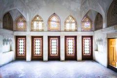 Architektura tradycyjni budynki w Kashan, Iran - fotografia stock
