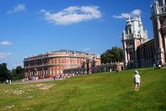 Architektura Tsaritsyno park w Moskwa Zdjęcie Royalty Free