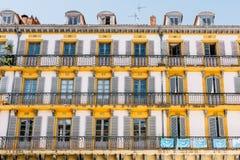 Architektura w Baskijskim kraju, Hiszpania obrazy stock