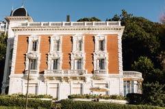 Architektura w Baskijskim kraju, Hiszpania zdjęcia stock