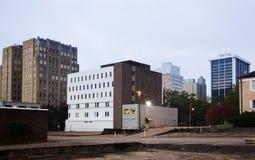 architektura w centrum Jackson Mississippi zdjęcia stock