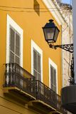 Architektura w Denia, Hiszpania zdjęcia royalty free