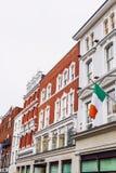 Architektura w Dublin ` s centrum miasta w Grafton ulicy featurin Zdjęcia Stock