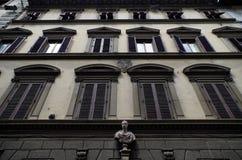 Architektura w Florencja, Włochy zdjęcie royalty free