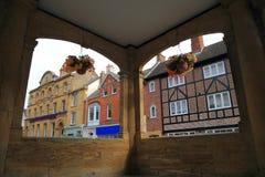 Architektura w Ilminster, Somerset Obrazy Royalty Free