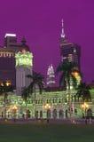 Architektura w Kuala Lumpur Malaysia Zdjęcia Royalty Free