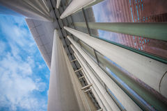 Architektura w Luksemburg Obrazy Stock