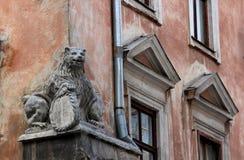 Architektura w Lviv zdjęcia royalty free