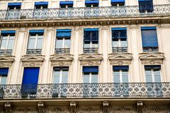 Architektura w Paryż Obraz Stock