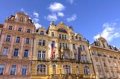 Architektura w Praga Fotografia Royalty Free