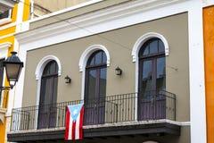 Architektura w San Juan Obrazy Stock