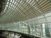 Architektura w Singapur centrum handlowym fotografia royalty free