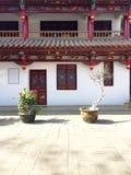 Architektura w Yuantong świątyni obrazy stock