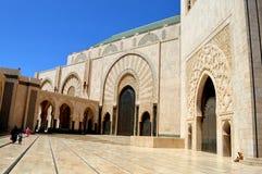 architektura wschodnia Maroko budynek, Maroko architektura, kolumnada obraz stock