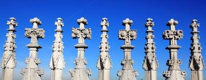 architektura wyszczególnia gothic Obrazy Stock