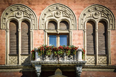 architektura za klasycznym szczegółu poduszek widok Zdjęcia Royalty Free