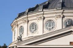 architektura za klasycznym szczegółu poduszek widok Obrazy Stock