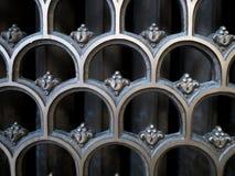 architektura za klasycznym szczegółu poduszek widok Obraz Stock